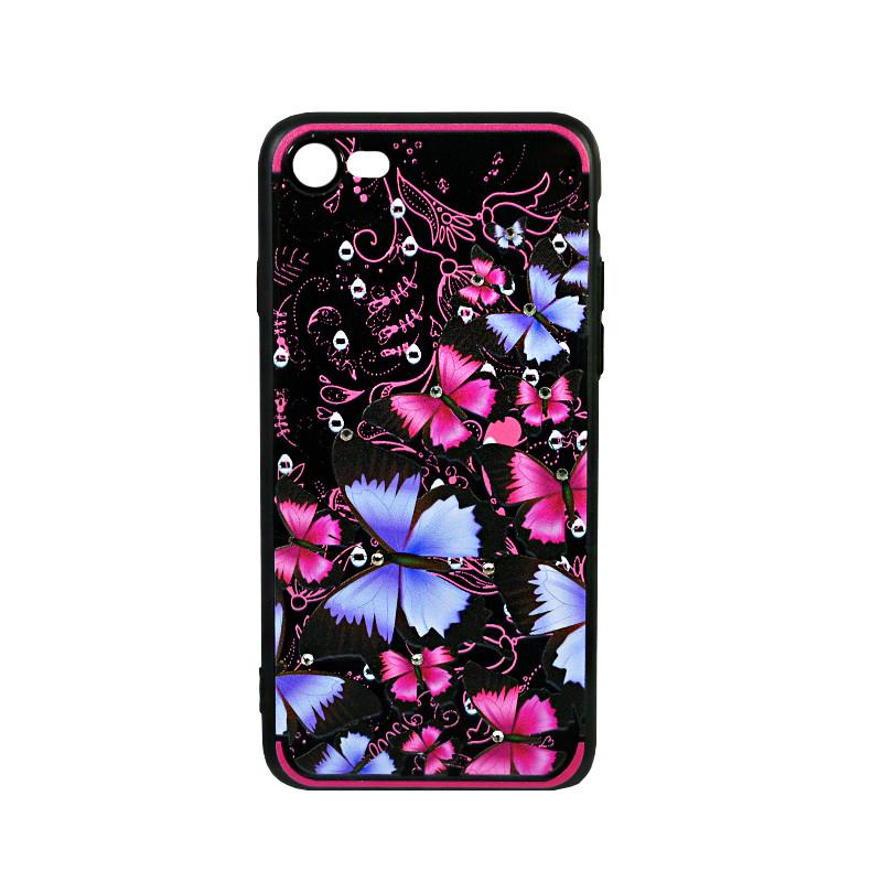Силиконовый чехол Beckberg Spring for iPhone X Purple