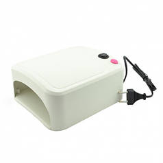 УФ лампа для ногтей, лампа для маникюра с таймером Beauty Nail ZH-818 White