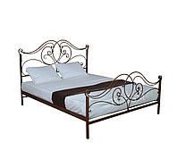 Кровать кованая двуспальная  Каролина