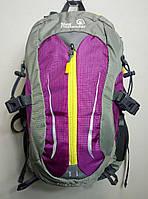 Рюкзак туристический, велорюкзак 30 л New Outlander-2233 фиолетовый
