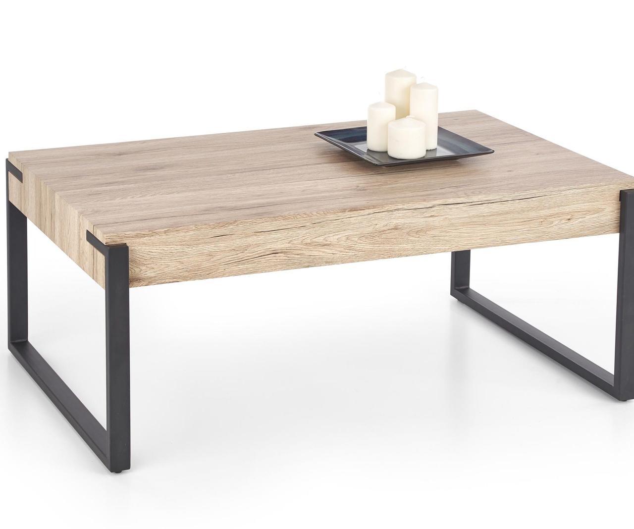Журнальный стол CAPRI 110*64(дуб сан ремо)  (Halmar)