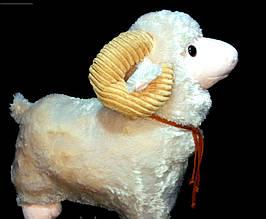 Детская мягкая игрушка Овечка 50 см плюшевая