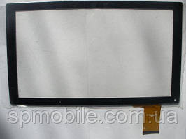 Сенсор (тачскрин) YJ144FPC-V1 black