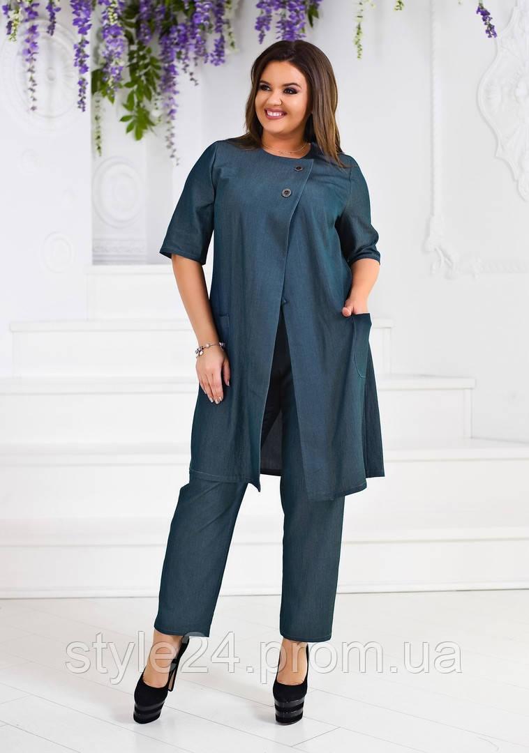 ЖІночий батальний костюм: жилетка і штани .Р-ри 50-54