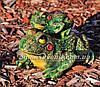 Садовая фигура Квакша и Лягушка с лягушонком, фото 3