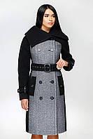 Женское модное демисезонное пальто в 4х цветах В-1153 Кашемир, фото 1