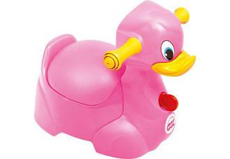 Горшок Ok Baby Quack малиновый (37070007/02)