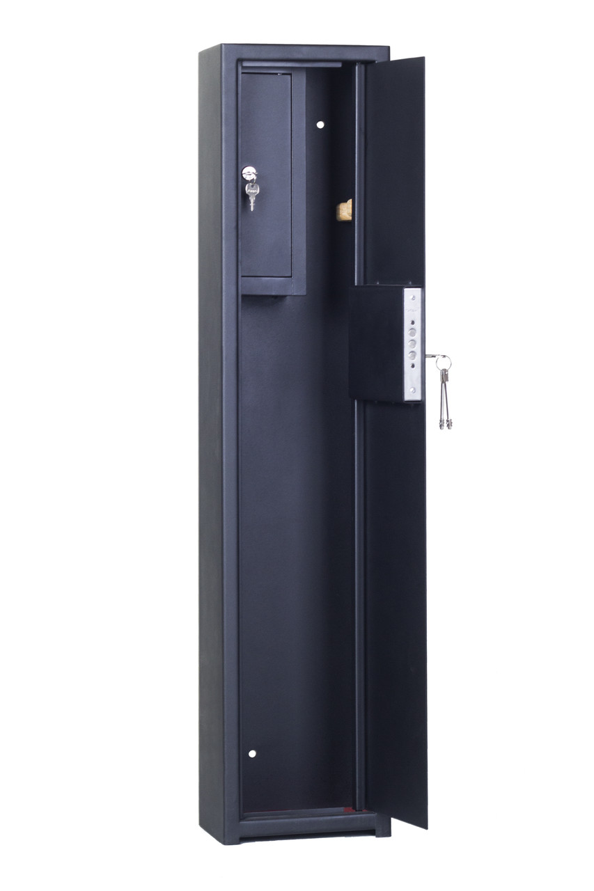Оружейные сейф Triniti 1100 1Т  для 1 ружья высотой до 108см черный