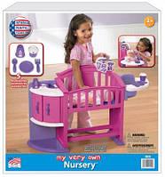 """Игровой набор для девочек """"Уход за куколкой"""", American Plastic"""