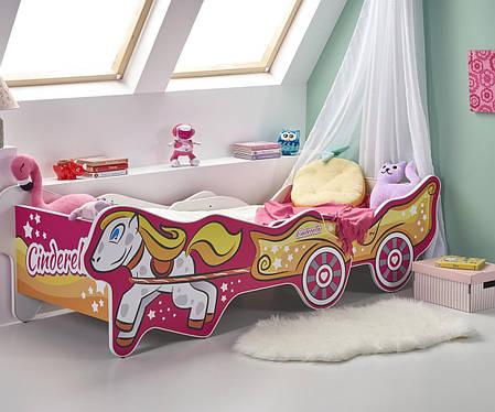 Кровать CINDERELLA  (Halmar), фото 2