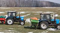 Ранньовесняне підживлення озимої пшениці по мерзлоталому ґрунту