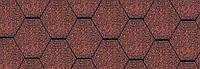 Гибкая битумная черепица Katepal Classic KL, красный