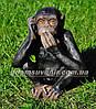 Садовая фигура Обезьяна глухая, немая и слепая, фото 4