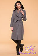 Женское длинное весеннее пальто (р. S, M, L) арт. Лесли 6262 - 41034