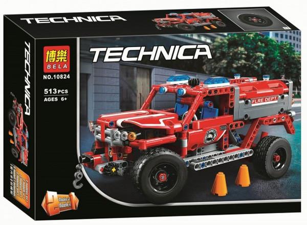 """Конструктор Bela 10824 """"Служба быстрого реагирования"""" 513 деталей. Аналог Lego Technic 42075"""