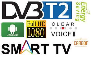 "Телевізор Herenthal @ X50ST18191001 Smart TV 50"" (Гарантія 1 рік), фото 3"