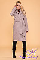 Длинное женское весеннее пальто (р. S, M, L) арт. Лесли 6262 - 41207