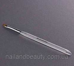 Кисть для наращивания G.Lacolor с прозрачной ручкой 4