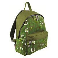 Рюкзак городской Highlander Zing 20 Kaleidos Square Print Green