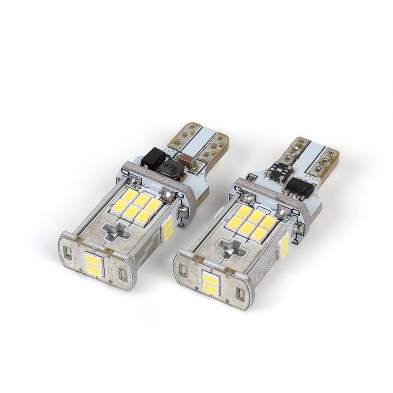 Светодиодные лампы Carlamp 400Лм 9-16В 6000К W16W 5K18-T15-W