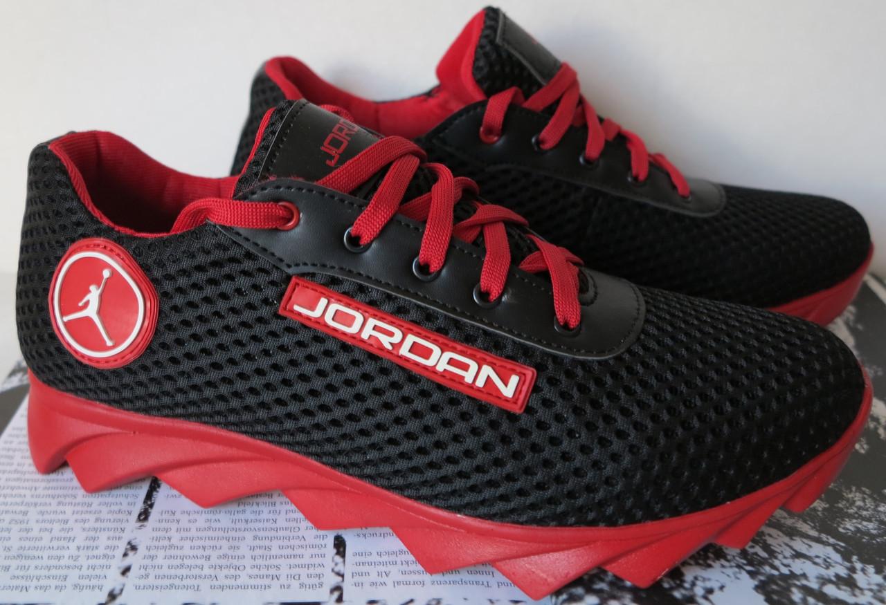 a6ade590a24713 Jordan! літні чорні чоловічі спортивні кросівки сітка шкіра репліка весняне  чоловіче спортивне взуття - VZUTA