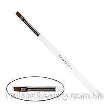 Пензель для нарощування G. Lacolor з прозорою ручкою 6