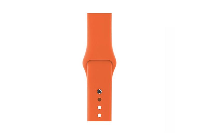 """Ремешок для Apple Watch 42/44 mm """"сочный персик"""" №2"""