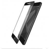 Защитное стекло Xiaomi Redmi 4X 5D Черное