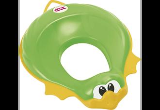 Детское сидение на унитаз Ok Baby Ducka салатовый (37850040/44)