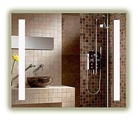 Зеркало для ванной комнаты с LED подсветкой. 800х600мм. 10ВТ, влагостойкий трансформатор, каркас пластик СД-2, фото 1