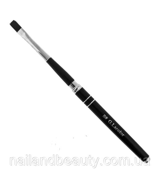 Кисть для наращивания G.Lacolor с черной ручкой 8