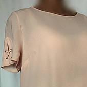 Блуза - кофточка женская Dorothy Perkins, офисный стиль, бледно - розовая размер 50/52