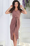 Платье женское демисезонное по фигуре ткань костюмка 42-52 размеров, 7 цвета
