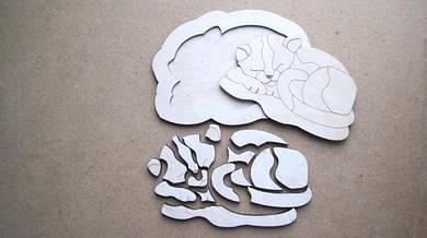Игрушки из дерева сборные модели, головоломки, пазлы