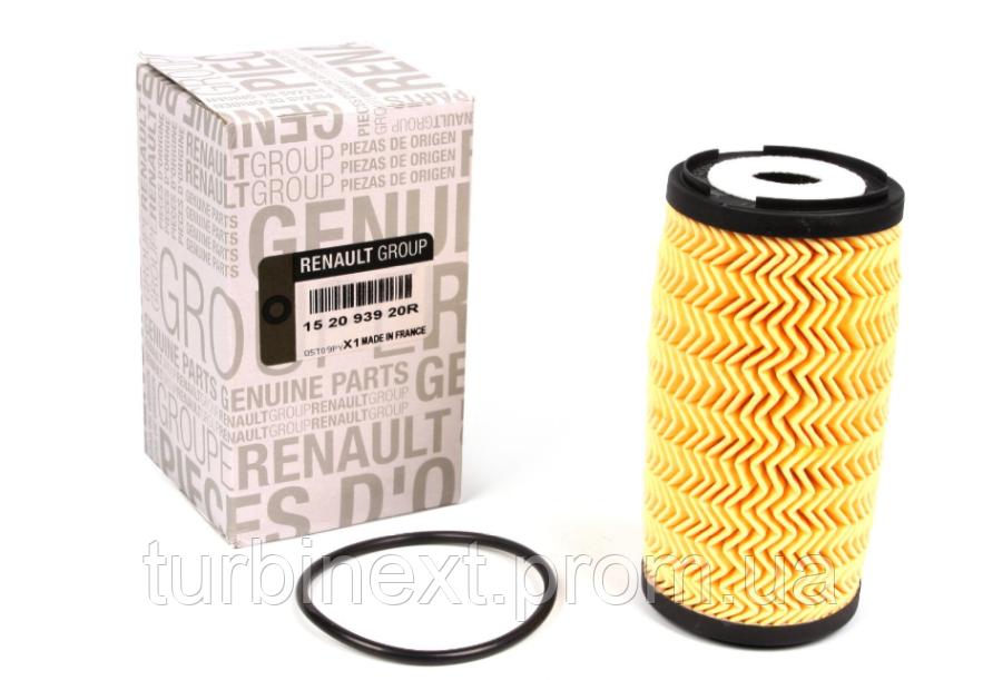 Фільтр масляний Renault Trafic/Master/Opel Vivaro 2.0 DCI 06-/2.3 dCi 10 - RENAULT 152093920R