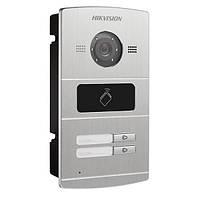 Цифровая ip видеопанель DS-KV8202-IM Hikvision на 2 абонента