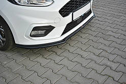 ДИФФУЗОР ПЕРЕДНЕГО БАМПЕРА FORD FIESTA MK8 ST-LINE ВЕР.1