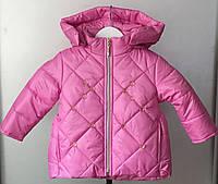 Куртка на девочку демисезонная,детская 1-3 года, фото 1