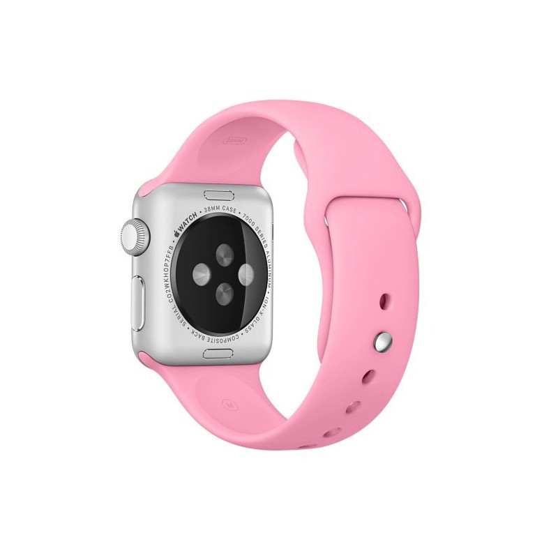 "Ремешок для Apple Watch 38/40 mm ""цветущая роза"" №6"