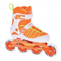 1b767cd33e4e3f Дитячі розсувні роликові ковзани Tempish Vestax (фітнес/бігові) помаранчеві