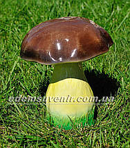 Садовая фигура Грибы, Подберезовик, Подберезовик малый, Гриб зонтик и Ежик клубочек, фото 2