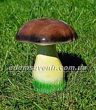 Садовая фигура Грибы, Подберезовик, Подберезовик малый, Гриб зонтик и Ежик клубочек, фото 3