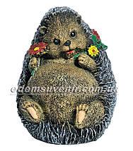 Садовая фигура Грибы Рыжики и Еж подарочный, фото 2