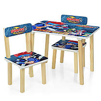 Детский столик с двумя стульчиками 501-56 Бейблейд