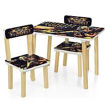 Детский столик с двумя стульчиками 501-54 Бамблби