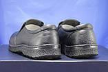 Мужские лёгкие повседневные демисезонные туфли комфорт натуральная кожа VASLAV, фото 3