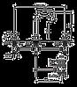 Смеситель для умывальника EMMEVI PIPER CR45033 хром, фото 2