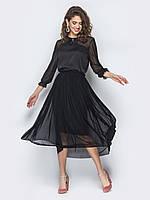 Женское модное платье со съемной юбкой play S 42-44 черный s19APw11