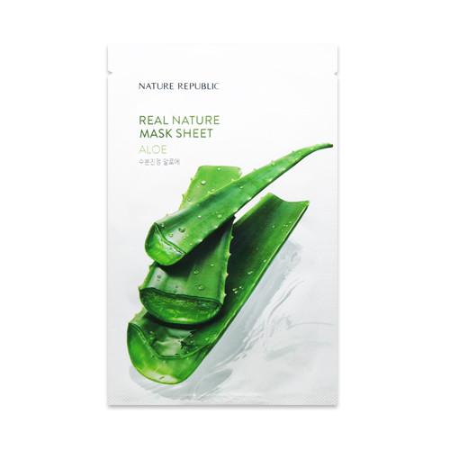 Увлажняющая тканевая маска Nature Republic Real Nature Mask Sheet - Aloe