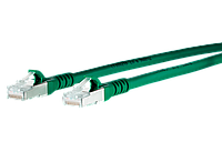 1308450555-E Patch Cable Cat.6A 10G AWG 26 GR